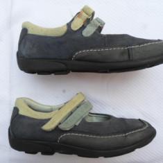 RICOSTA - PANTOFI DIN PIELE NATURALA INTERIOR - EXTERIOR, STARE BUNA,, NR. 31, CALITATE MAXIMA - Pantofi copii, Culoare: Din imagine, Fete, Piele intoarsa