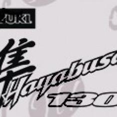 Hayabusa 1300_Sticker Moto_Tuning_MDEC-064-Dimensiune: 15 cm. X 8.2 cm. - Orice culoare, Orice dimensiune - Stickere tuning