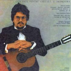 Mauro G. Giuliani_Mario Castelnuovo-Tedesco_Ilarion Ionescu-Galati_Costas Cotsiolis - Concerte Pentru Chitara Si Orchestra (Vinyl) - Muzica Clasica electrecord, VINIL