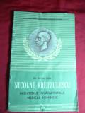 Dr.Samuil Izsak - N.Kretzulescu  initiatorul invatamantului romanesc - Ed. 1957