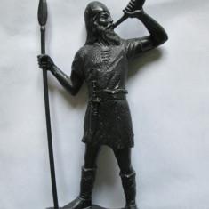 RARA! FIGURINA RUSEASCA PLASTIC(16 CM) OSTAS IVAN CEL GROAZNIC, FABRICATA IN ANII 70 - Miniatura Figurina