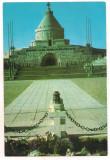 #carte postala(ilustrata)-VRANCEA-Marasesti- Mausoleul