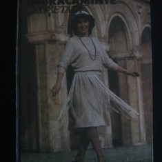 ELENA PANAIT-LECA - IMBRACAMINTE CROSETATA - Carte design vestimentar