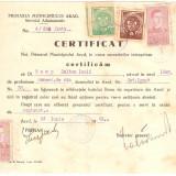 Romania document fiscal cu timbre Oradea