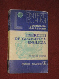 Exercitii de gramatica engleza - Georgiana Galateanu