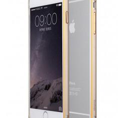 Bumper iPhone 6 6S Aluminiu by Yoobao Original Gold