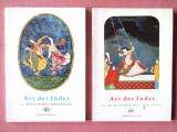"""ART DES INDES. Miniatures"", Vol. I + II, George Lawrence, 1963. Carti noi"