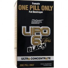Lipo 6 Black Hers Ultraconcentrate Nutrex