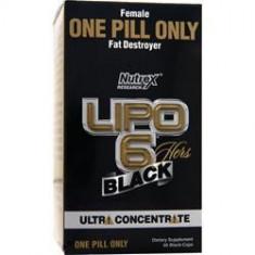 Lipo 6 Black Hers Ultraconcentrate Nutrex - Produs de Slabit