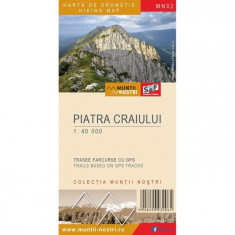 Schubert & Franzke Harta Muntii Nostri Harta Muntilor - Piatra Craiului MN02 - Harta Turistica