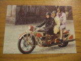 "CP  -- Motocicleta de epoca - 1927 * ""BOHMERLAND""  --  Intrg postal color -   necirculata, Fotografie, Europa"