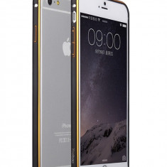 Bumper iPhone 6 6S Aluminiu by Yoobao Original Black