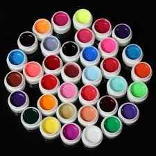 Kit Set Gel 36 Color Geluri Colorate 5ML (8G) GD COCO Lampa uv PENSULE PICTURA