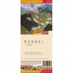 Schubert & Franzke Harta Muntii Nostri Harta Muntilor - Rodnei MN03 - Harta Turistica