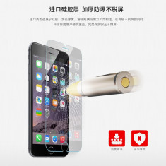 Geam iPhone 6 6S Tempered Glass 0.15mm by Yoobao Original - Folie de protectie Yoobao, Lucioasa