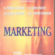 (C5280) MARKETING DE GH. M. PISTOL, EDITURA INDEPENDENTA ECONOMICA, 2001 - Carte Marketing