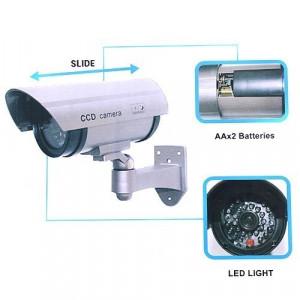 Set 2 camere video false  model IR  led  rosu avertizor , NOI