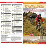 Schubert & Franzke Harta Trasee Cicloturistice in Muntii Banatului MB02, F. Schubert