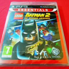 Joc Lego Batman 2 DC super Heroes, PS3, sigilat, alte sute de jocuri! - Jocuri PS3, Actiune, 12+, Single player