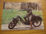 "CP  -- Motocicleta de epoca- 1924 * ""MEGOLA""  --  Intrg postal color -   necirculata, Fotografie, Europa"