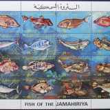 LIBIA - PESTI 16 VALORI IN M/SH, NEOBLITERATA - E0114