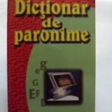DICTIONAR DE PARONIME - PROF. SERGIU ANTON BERCEANU