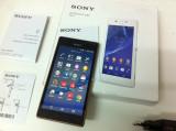 SONY XPERIA M2 Aqua , Este nou deblocat pe orice retea are displayul spart, Mov, Neblocat, Smartphone