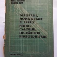 DIAGRAME, NOMOGRAME SI TABELE PENTRU CALCULUL LUCRARILOR HIDROEDILITARE - M. GIURCONIU, I. MIREL