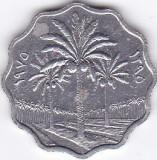 Moneda Irak ( Iraq ) 5 Fils 1975 (AH1395) - KM#125a XF, Asia