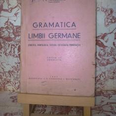 I. V. Patrascanu - Gramatica limbii germane - Curs Limba Germana