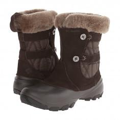 Boots femei Columbia Sierra Summette™ IV Slip | 100% originali | Livrare cca 10 zile lucratoare | Aducem pe comanda orice produs din SUA - Cizma dama Columbia, Maro