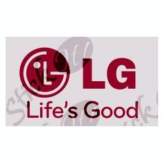 LG Life`s Good_Firme_Stickere diverse Cod: ODEC-017 - Orice culoare, Orice model pe comanda - Sticker laptop