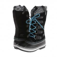 Boots femei SOREL Joan Of Arctic™ Knit | 100% originali | Livrare cca 10 zile lucratoare | Aducem pe comanda orice produs din SUA - Cizma dama Sorel, Cauciuc, Negru