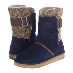 Boots femei SOREL The Campus™ | 100% originali | Livrare cca 10 zile lucratoare | Aducem pe comanda orice produs din SUA - Cizma dama Sorel, Piele intoarsa, Bleumarin