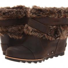 Boots femei SOREL Joan Of Arctic Wedge Ankle™ | 100% originali | Livrare cca 10 zile lucratoare | Aducem pe comanda orice produs din SUA - Botine dama