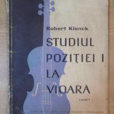 STUDIUL POZITIEI I LA VIOARA, CAIETUL I de ROBERT KLENCK - Muzica Dance