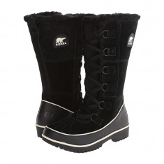 Boots femei SOREL Tivoli™ High II   100% originali   Livrare cca 10 zile lucratoare   Aducem pe comanda orice produs din SUA, Negru, Cauciuc