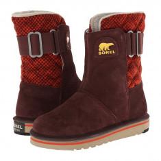 Boots femei SOREL The Campus™ | 100% originali | Livrare cca 10 zile lucratoare | Aducem pe comanda orice produs din SUA - Cizma dama Sorel, Piele intoarsa, Violet