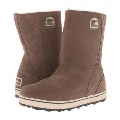 Boots femei SOREL Glacy™ | 100% originali | Livrare cca 10 zile lucratoare | Aducem pe comanda orice produs din SUA - Cizma dama Sorel, Piele intoarsa, Maro