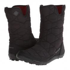 Boots femei Columbia Minx™ Slip II Omni-Heat™ | 100% originali | Livrare cca 10 zile lucratoare | Aducem pe comanda orice produs din SUA - Cizma dama Columbia, Textil, Negru