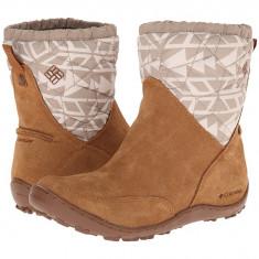 Boots femei Columbia Minx™ Pull On Omni-Heat™ | 100% originali | Livrare cca 10 zile lucratoare | Aducem pe comanda orice produs din SUA - Cizma dama Columbia, Camel