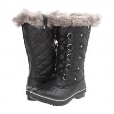 Boots femei SOREL Tofino Cate™ | 100% originali | Livrare cca 10 zile lucratoare | Aducem pe comanda orice produs din SUA - Cizma dama Sorel, Cauciuc, Negru
