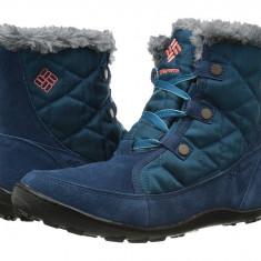 Boots femei Columbia Minx™ Shorty Omni-Heat™ | 100% originali | Livrare cca 10 zile lucratoare | Aducem pe comanda orice produs din SUA - Cizma dama Columbia, Bleumarin