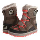 Boots femei SOREL Glacy™ Explorer Shortie | 100% originali | Livrare cca 10 zile lucratoare | Aducem pe comanda orice produs din SUA - Cizma dama Sorel, Maro