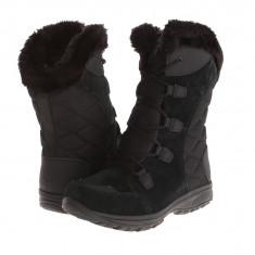 Boots femei Columbia Ice Maiden™ II | 100% originali | Livrare cca 10 zile lucratoare | Aducem pe comanda orice produs din SUA - Cizma dama Columbia, Negru
