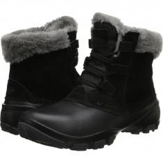 Boots femei Columbia Sierra Summette™ Shorty | 100% originali | Livrare cca 10 zile lucratoare | Aducem pe comanda orice produs din SUA - Cizma dama Columbia, Negru