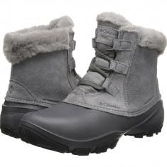 Boots femei Columbia Sierra Summette™ Shorty | 100% originali | Livrare cca 10 zile lucratoare | Aducem pe comanda orice produs din SUA - Gheata dama Columbia, Gri