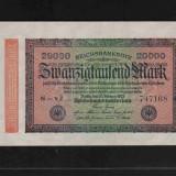 [ Y ] - Germania 20.000 mark 20 Februarie 1923 UNC !!!