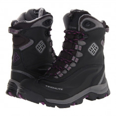 Boots femei Columbia Bugaboot™ Plus II Omni-Heat™ | 100% originali | Livrare cca 10 zile lucratoare | Aducem pe comanda orice produs din SUA - Cizma dama Columbia, Negru