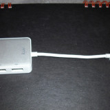 iLuv USB Ethernet Adapter with USB Hub